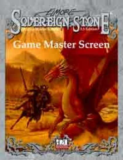 Role Playing Games - Sovereign Stone 3.5 Game Master Screen Booklet