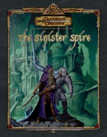 Role Playing Games - The Sinister Spire