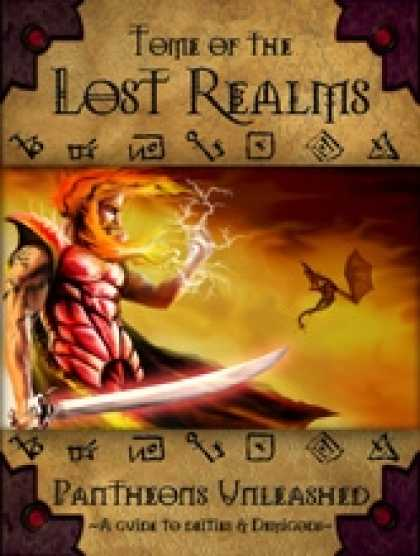 Role Playing Games - Tome of the Lost Realms Pantheons Unleashed
