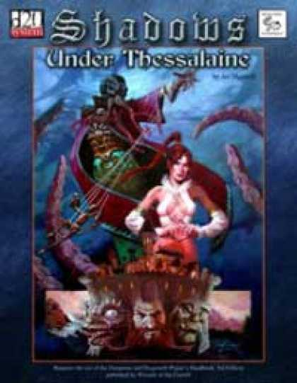 Role Playing Games - MonkeyGod Presents: Shadows Under Thessalaine