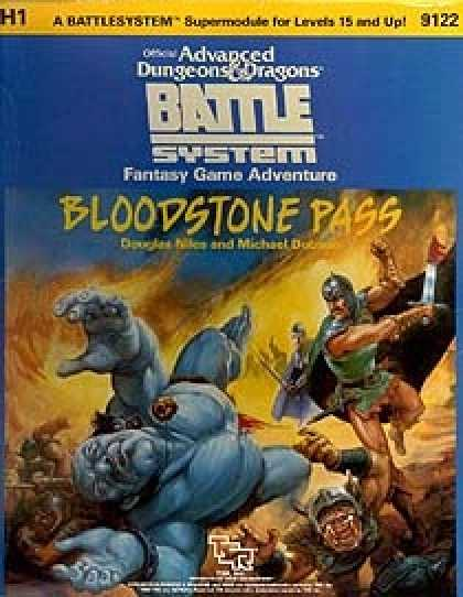 Role Playing Games - Bloodstone Pass