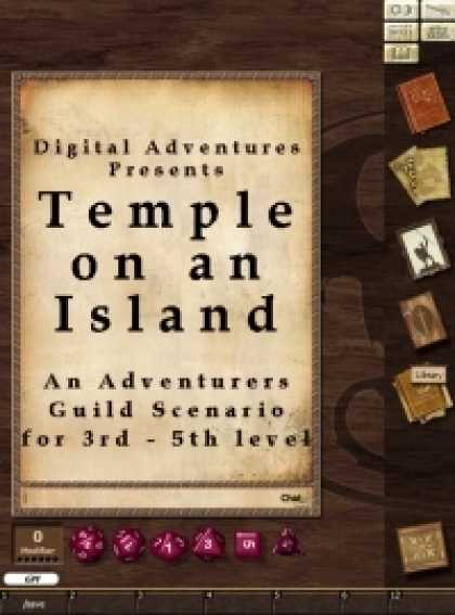 Role Playing Games - Temple on an Island Fantasy Grounds II Adventure