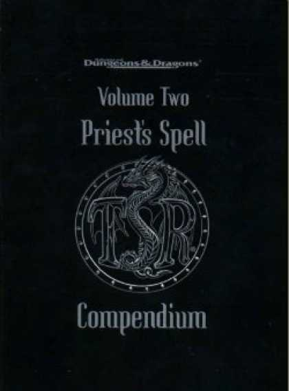 Role Playing Games - Priest's Spells Compendium - Volume Two