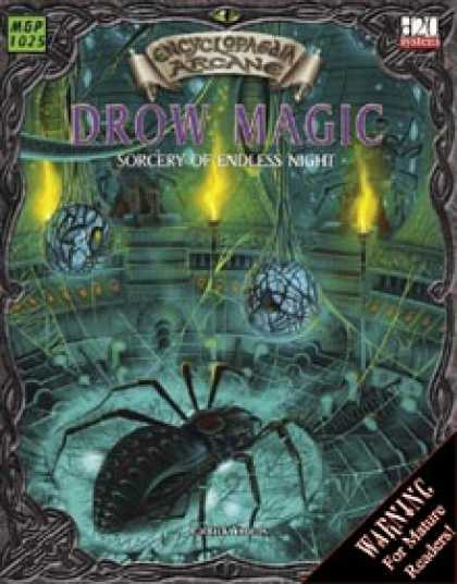 Role Playing Games - Encyclopaedia Arcane Drow Magic