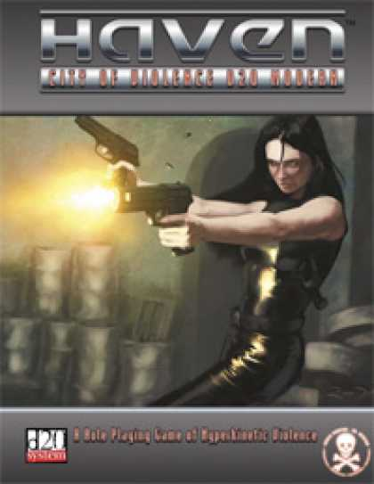 Role Playing Games - Haven: City of Violence d20 Modern