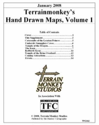 Role Playing Games - Hand Drawn Maps, Volume 1