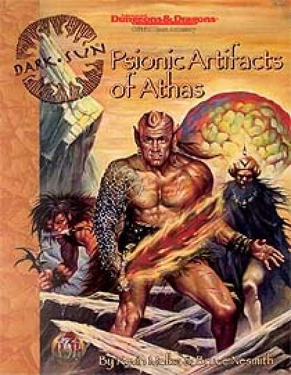 Role Playing Games - Psionic Artifacts of Athas