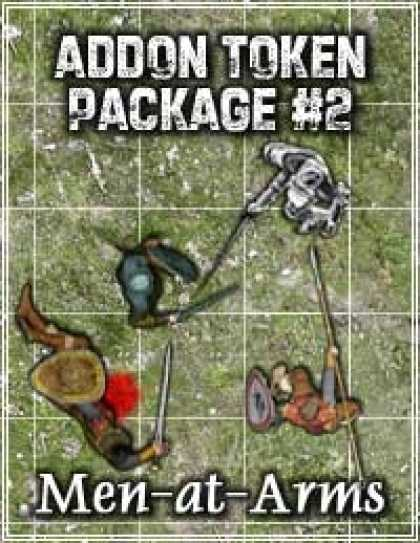 Role Playing Games - Addon Token Package #2: Men-at-Arms