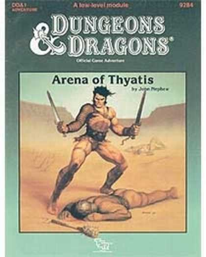 Role Playing Games - DDA1 - Arena of Thyatis