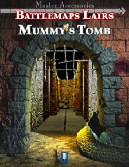 Role Playing Games - Battlemaps Lairs: Mummy's Tomb