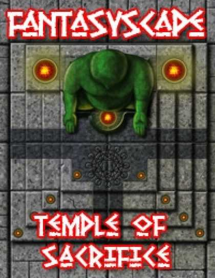 Role Playing Games - Fantasyscape Tiles: Temple of Sacrifice