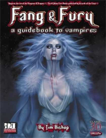Role Playing Games - Fang & Fury: A Guidebook to Vampires