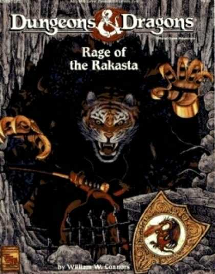 Role Playing Games - Rage of the Rakasta