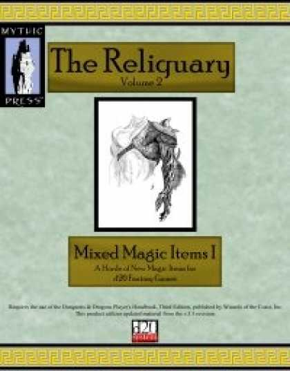 Role Playing Games - Reliquary Volume II