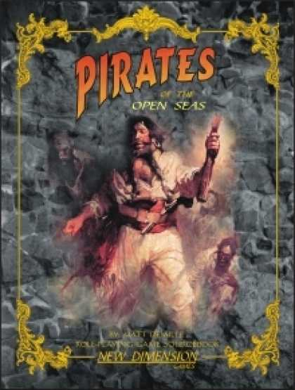 Role Playing Games - Pirates of the Open Seas—campaign setting