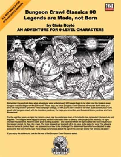 Role Playing Games - Dungeon Crawl Classics #0: Legends are Made, not Born