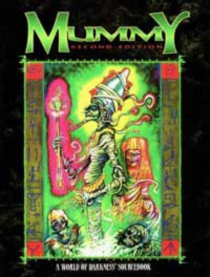 Role Playing Games - World of Darkness: Mummy (2nd edition)