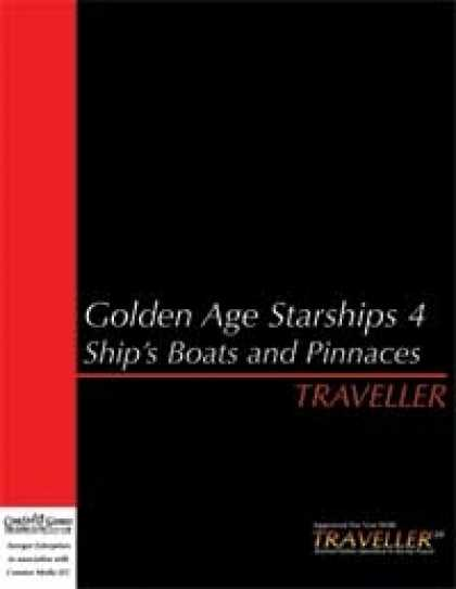 Role Playing Games - Traveller Golden Age Starships 4: Boats and Pinnaces