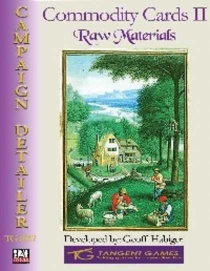 Role Playing Games - Commodity Cards II: Raw Materials