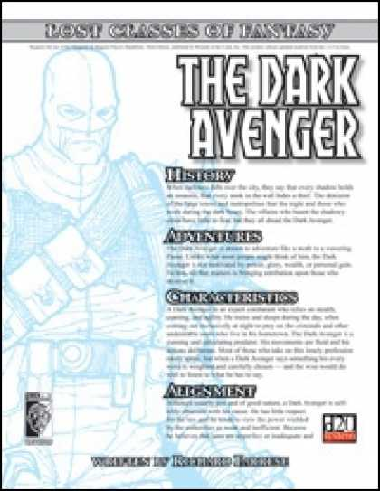 Role Playing Games - Lost Classes: Dark Avenger