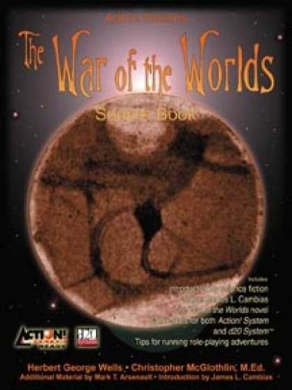 Role Playing Games - Action! Classics: The War of the Worlds (d20, Action!)