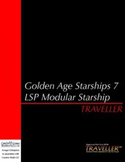 Role Playing Games - Traveller - GAS 7: LSP Modular Starship