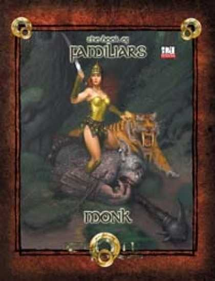 Role Playing Games - Book of Familiars Monk 3.5