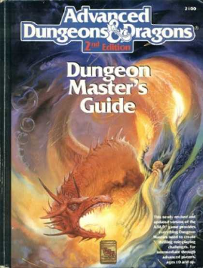 Role Playing Games - 2nd Ed. Dungeon Masters Guide