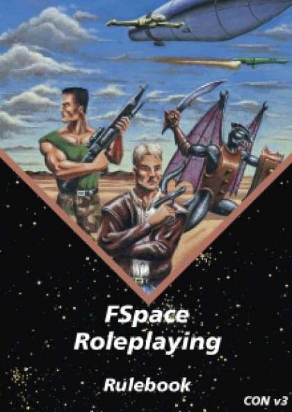 Role Playing Games - FSpace Roleplaying Rulebook v3.1