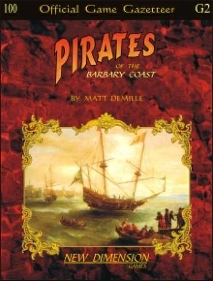Role Playing Games - Pirates: The Barbary Coast--Supplement G2