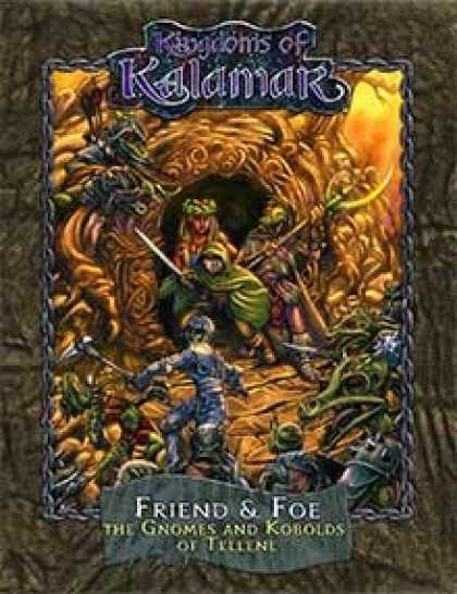 Role Playing Games - Friend & Foe: The Gnomes and Kobolds of Tellene