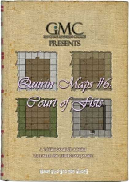 Role Playing Games - Quirin Maps #6: Court of Fists