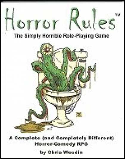 Role Playing Games - Horror Rules, The Simply Horrible Role-Playing Game