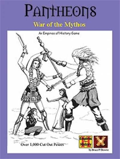 Role Playing Games - Pantheons: War of the Mythos Board Game
