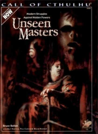 Role Playing Games - Unseen Masters
