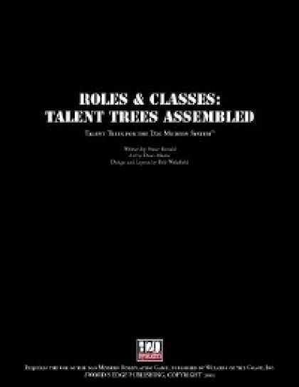 Role Playing Games - Talent Trees Assembled