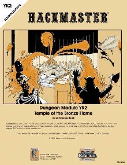 Role Playing Games - Temple of the Bronze Flame