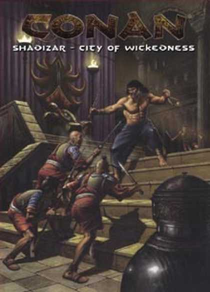 Role Playing Games - Shadizar - City of Wickedness