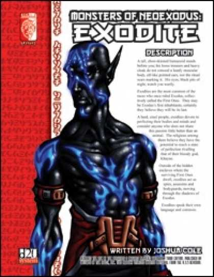 Role Playing Games - Monsters of NeoExodus: Exodite