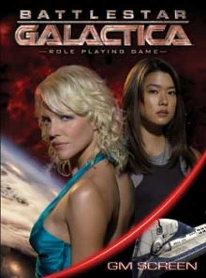 Role Playing Games - Battlestar Galactica GM Screen