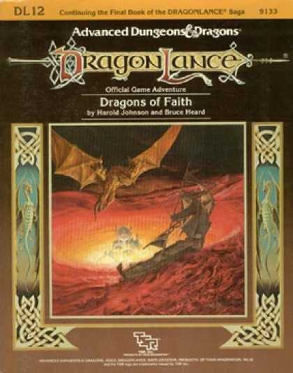 Role Playing Games - DL12 - Dragons of Faith