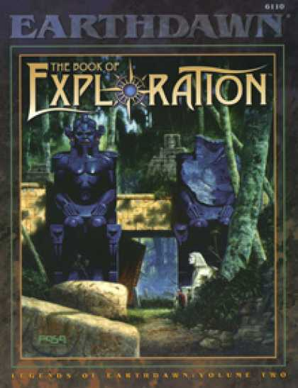 Role Playing Games - Legends of Earthdawn, Volume II: The Book of Exploration