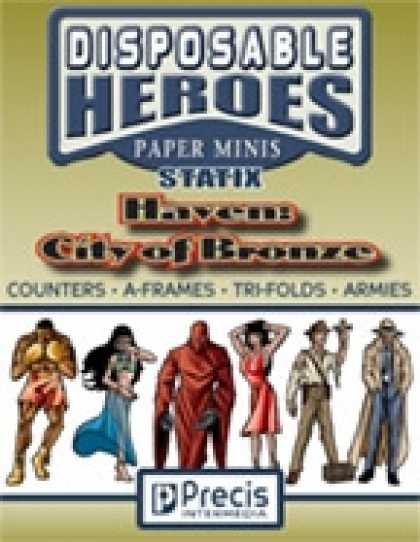 Role Playing Games - Disposable Heroes Statix - Haven: City of Bronze