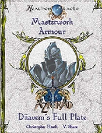Role Playing Games - Masterwork Armour: Diiavem's Full Plate