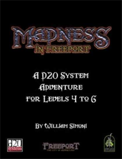 Role Playing Games - Madness in Freeport Revised