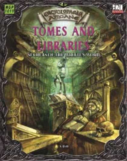 Role Playing Games - Encyclopaedia Arcane Tomes and Libraries