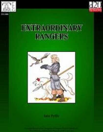 Role Playing Games - Extraordinary Rangers