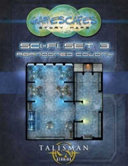 Role Playing Games - Gamescapes: Story Maps, Sci-fi Set 3