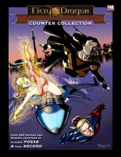 Role Playing Games - Counter Collection Supers & Modern