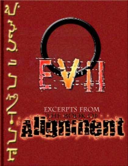 Role Playing Games - The Book of Alignment: Evil